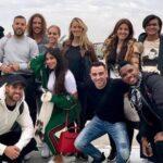 Algunos de los invitados de Messi y Antonella