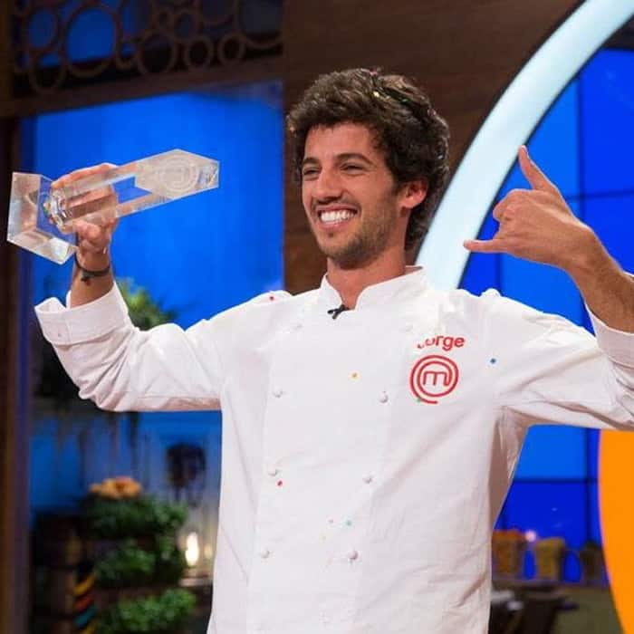 Jorge, ganador de 'Masterchef'