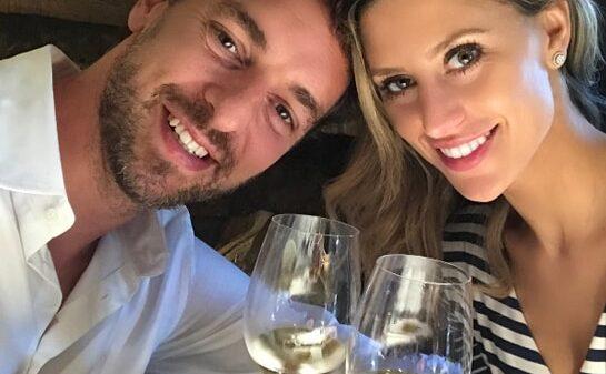 Pau Gasol y su novia, Catherine, en San Sebastián
