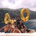 Raúl González celebra su 40 cumpleaños en familia