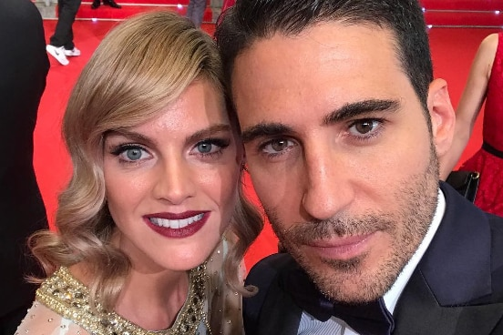 Amaia Salmanca y Miguel Ángel Silvestre