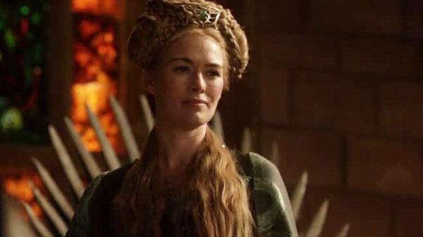 'Cersei' en un fotograma de 'Juego de Tronos'