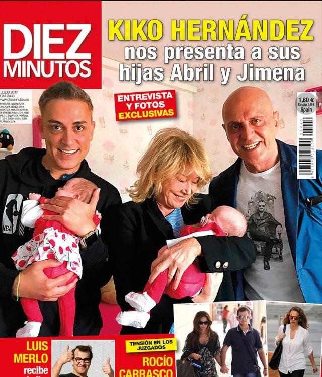 La portada de la revista 'Diez Minutos' de esta semana