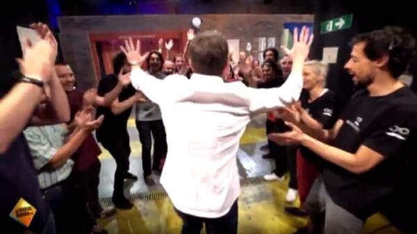 Fotograma del vídeo de despedida de 'El Hormiguero'