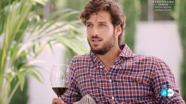 Feliciano López durante la entrevista con Bertín Osborne