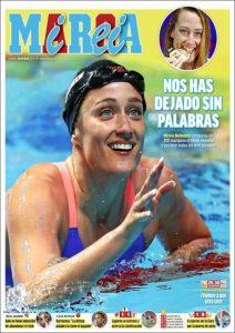 La portada de 'Marca' de este viernes 28 de julio de 2017