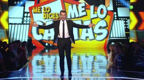 Jesús Vázquez, presentador de 'Me lo dices o me lo cantas'
