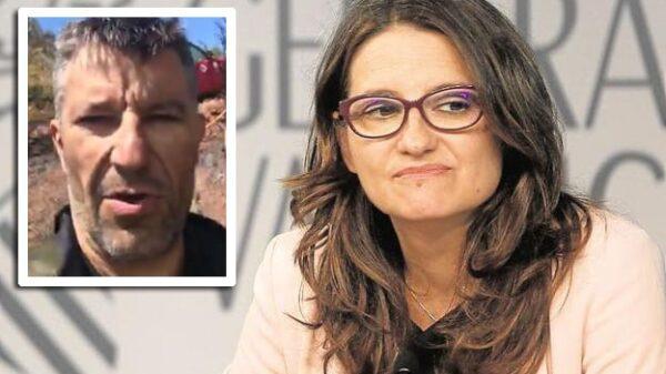 Manolo Mallol y Mónica Oltra.