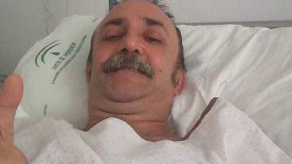 Santi Rodríguez en el hospital tras sufrir un infarto
