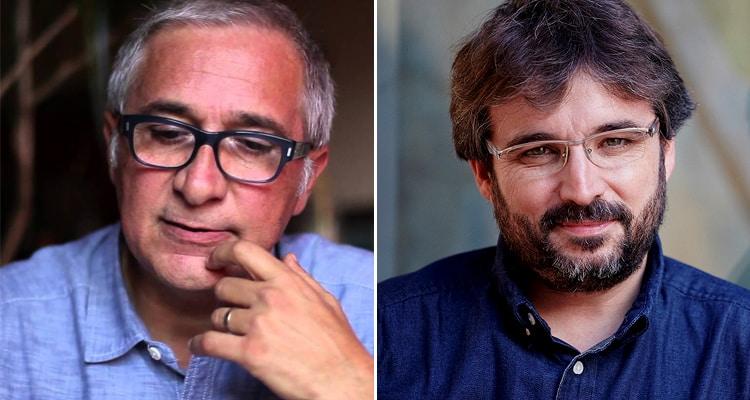 Xavier Sardà y Jordi Évole