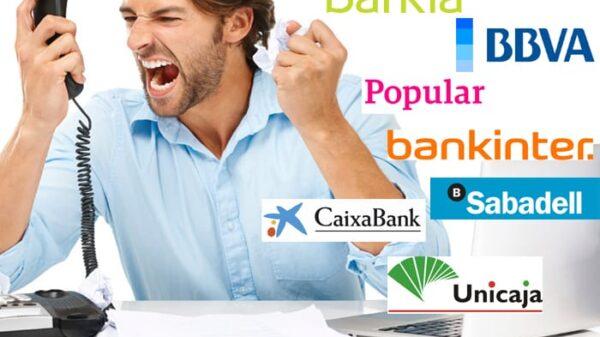 FACUA denuncia a 11 bancos por sus teléfonos 901 y 902