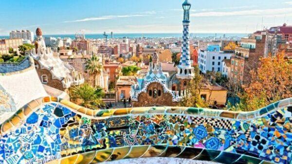 Una vista de Barcelona