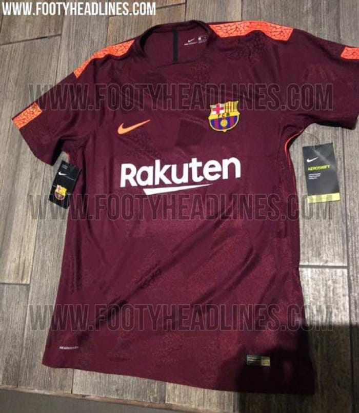 traje Barcelona futbol