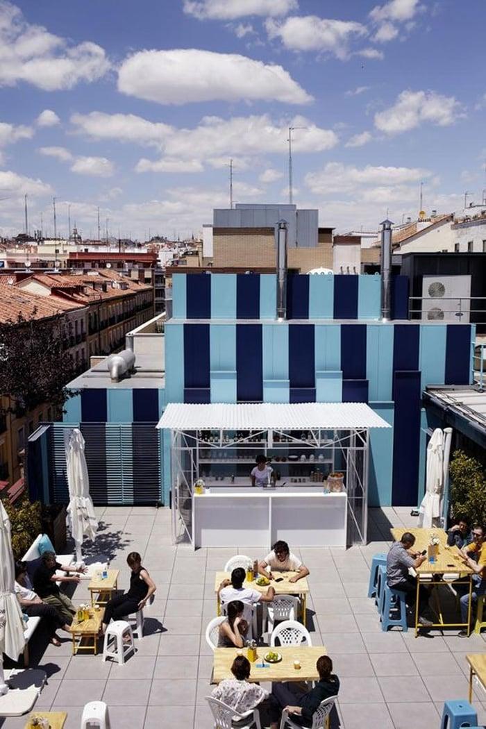 Las 10 mejores terrazas de madrid para cenar en agosto for La casa encendida telefono