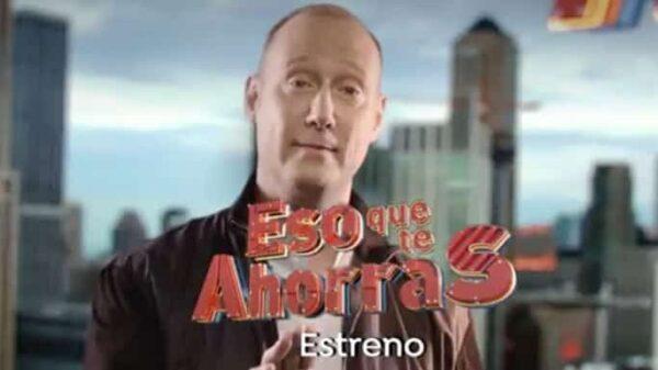 Pedro García Aguado en la imagen promocional de 'Eso que te ahorras'