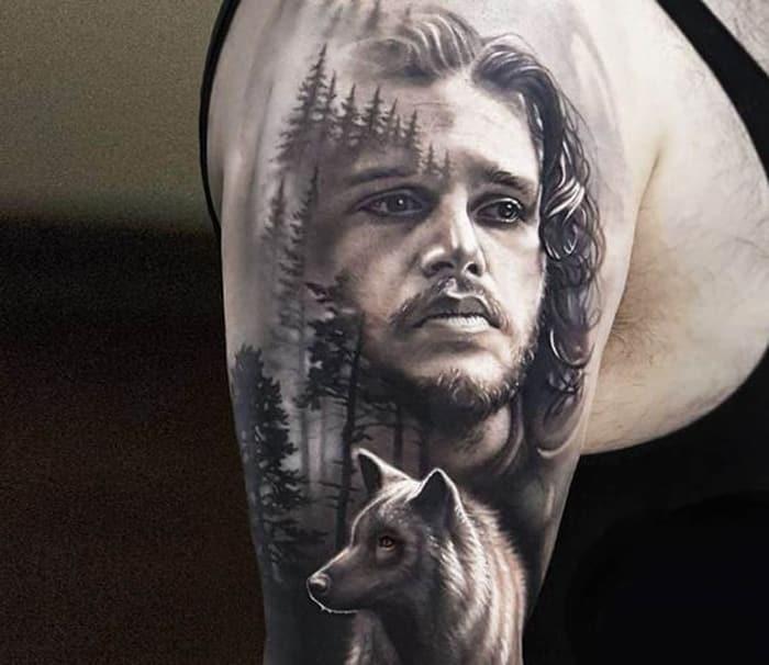 Los 10 Tatuajes De Juego De Tronos Mas Increibles De Pinterest