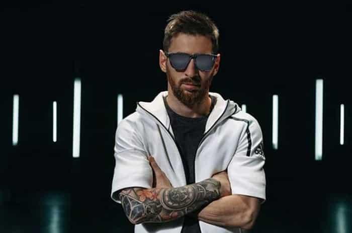 Leo Messi, en su última campaña promocional