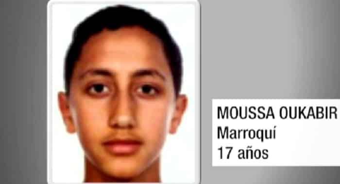En la imagen, Moussa Oukabir