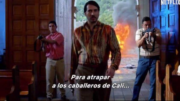 Un fotograma de la tercera temporada de 'Narcos'
