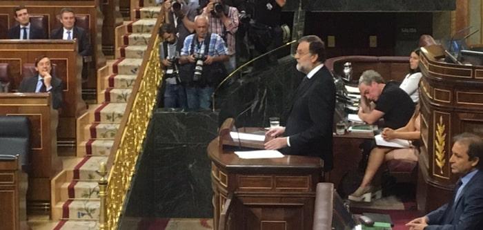 Mariano Rajoy comparece en el Congreso por la Gürtel