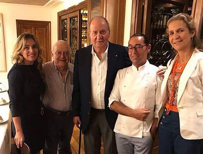 El Rey Juan Carlos Y Marta Gaya