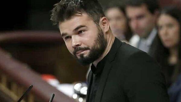 Gabriel Rufián, portavoz de ERC
