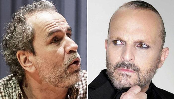 Willy Toledo y Miguel Bosé