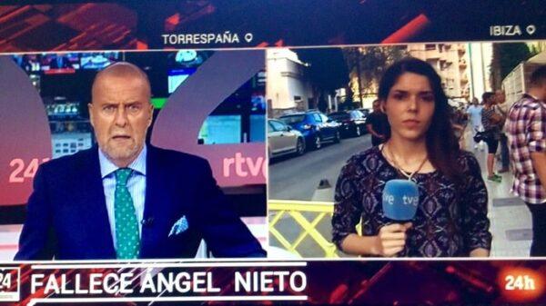 El momento en que TVE comunicaba la muerte de Ángel Nieto