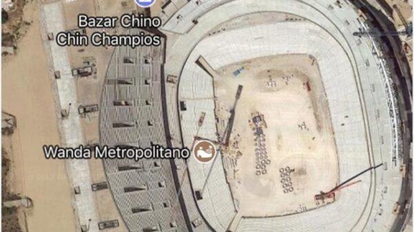 Búsqueda del Wanda Metropolitano en Google Maps