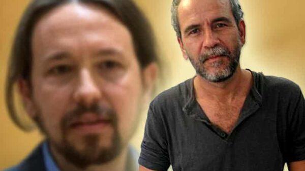 Willy Toledo y Pablo Iglesias