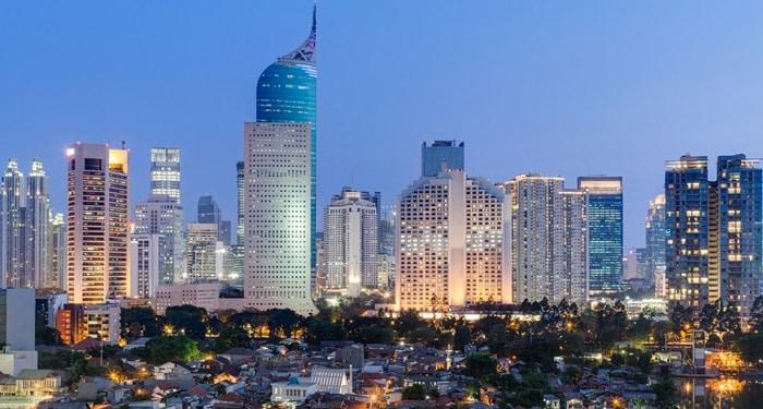 En la imagen, la ciudad de Yakarta