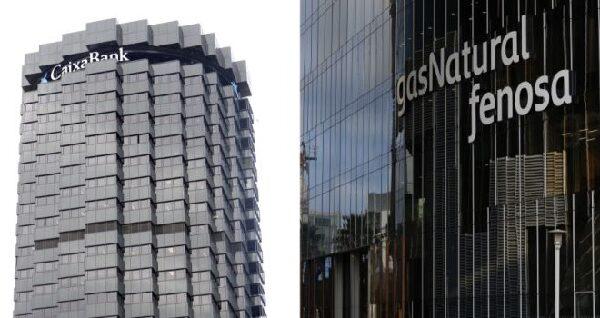 Edificios de Caixabank y Gas Natural