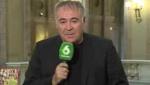El periodista García Ferreras