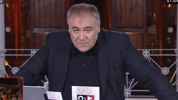 García Ferreras en 'Al Rojo Vivo'