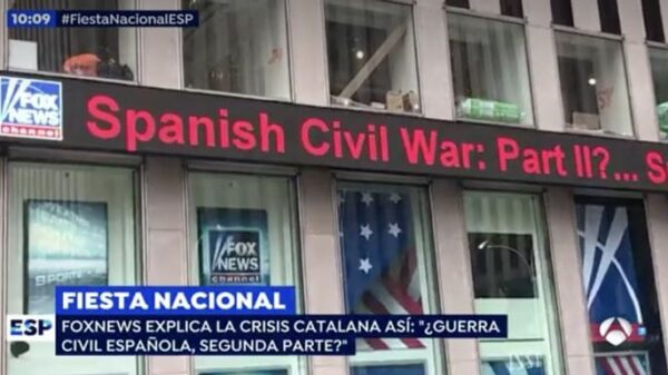 El titular de Fox News
