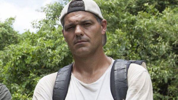 El presentador Frank Cuesta