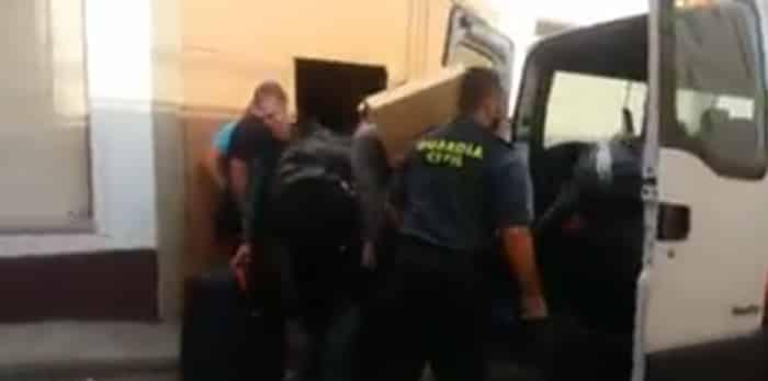 La Guardia Civil abandona uno de los hoteles de Calella