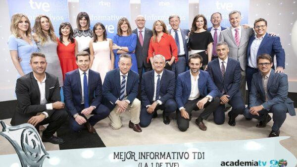 Premio Iris al Telediario de TVE como mejor informativo