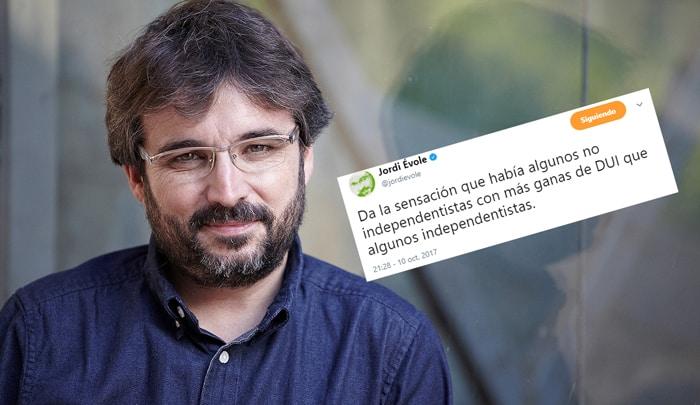 El presentador de 'Salvados', Jordi Évole
