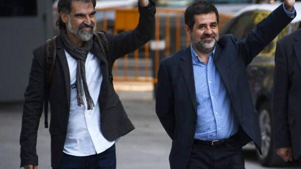 Jordi Cuixart y Jordi Sànchez