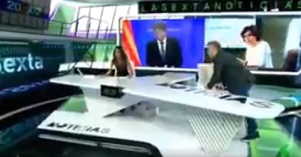 Los presentadores de La Sexta, 'pillados'
