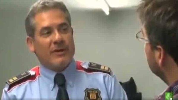 Comisario de los Mossos en una entrevista con Jordi Évole