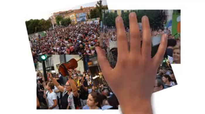 Un fotograma del vídeo sobre el soterramiento del AVE en Murcia
