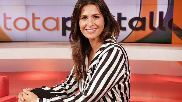 Nuria Roca en la presentación del programa 'A tota pantalla'