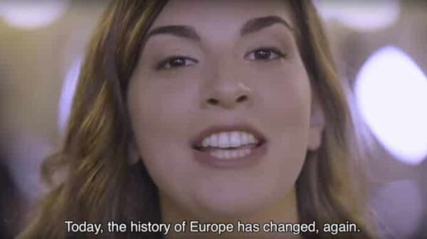 Fotograma del vídeo de Ómnium Cultural
