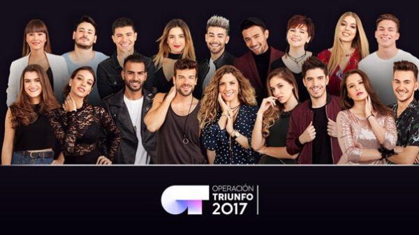 Los concursantes de 'OT 2017'