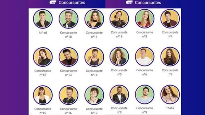 Los supuestos 18 concursantes de 'OT 2017'