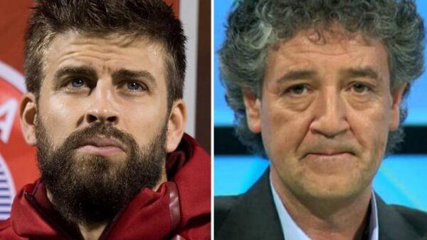 Gerard Piqué y Rafa Guerrero