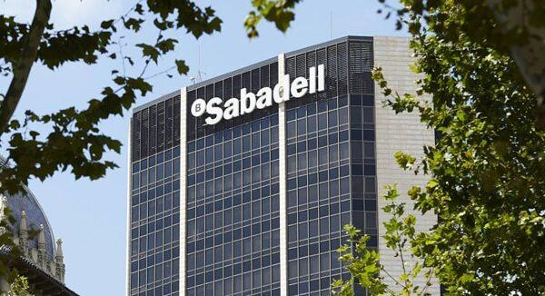 Un edificio del Banco Sabadell