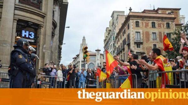 La foto que encabeza el artículo de 'The Guardian'